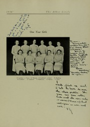 Abbot Academy - Circle Yearbook (Andover, MA) online yearbook collection, 1934 Edition, Page 31 of 104