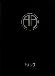 Abbot Academy - Circle Yearbook (Andover, MA) online yearbook collection, 1935 Edition, Cover
