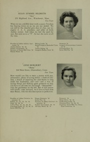 Abbot Academy - Circle Yearbook (Andover, MA) online yearbook collection, 1935 Edition, Page 29