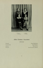 Abbot Academy - Circle Yearbook (Andover, MA) online yearbook collection, 1935 Edition, Page 72