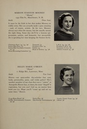 Abbot Academy - Circle Yearbook (Andover, MA) online yearbook collection, 1936 Edition, Page 25