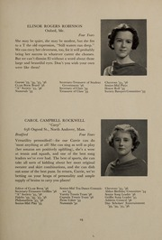 Abbot Academy - Circle Yearbook (Andover, MA) online yearbook collection, 1936 Edition, Page 27