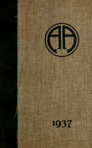 Abbot Academy - Circle Yearbook (Andover, MA) online yearbook collection, 1937 Edition, Cover