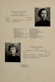 Page 17, 1937 Edition, Abbot Academy - Circle Yearbook (Andover, MA) online yearbook collection