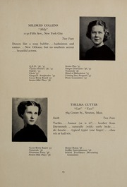 Abbot Academy - Circle Yearbook (Andover, MA) online yearbook collection, 1937 Edition, Page 19