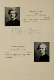 Abbot Academy - Circle Yearbook (Andover, MA) online yearbook collection, 1937 Edition, Page 24