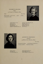 Abbot Academy - Circle Yearbook (Andover, MA) online yearbook collection, 1937 Edition, Page 25