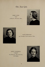 Abbot Academy - Circle Yearbook (Andover, MA) online yearbook collection, 1937 Edition, Page 37