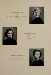 Abbot Academy - Circle Yearbook (Andover, MA) online yearbook collection, 1937 Edition, Page 41 of 120