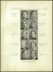 Abbot Academy - Circle Yearbook (Andover, MA) online yearbook collection, 1938 Edition, Page 20