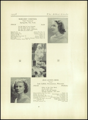 Abbot Academy - Circle Yearbook (Andover, MA) online yearbook collection, 1938 Edition, Page 27
