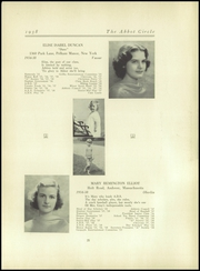 Abbot Academy - Circle Yearbook (Andover, MA) online yearbook collection, 1938 Edition, Page 29