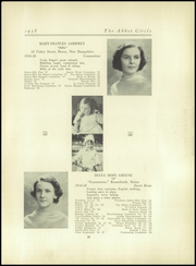 Abbot Academy - Circle Yearbook (Andover, MA) online yearbook collection, 1938 Edition, Page 33