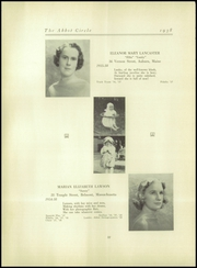 Abbot Academy - Circle Yearbook (Andover, MA) online yearbook collection, 1938 Edition, Page 36