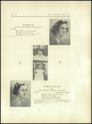 Abbot Academy - Circle Yearbook (Andover, MA) online yearbook collection, 1938 Edition, Page 37
