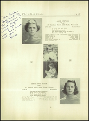 Abbot Academy - Circle Yearbook (Andover, MA) online yearbook collection, 1938 Edition, Page 42