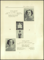 Abbot Academy - Circle Yearbook (Andover, MA) online yearbook collection, 1938 Edition, Page 43 of 124