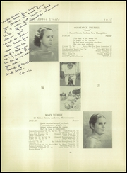 Abbot Academy - Circle Yearbook (Andover, MA) online yearbook collection, 1938 Edition, Page 44