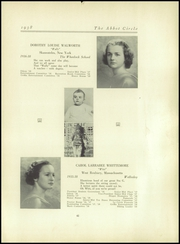 Abbot Academy - Circle Yearbook (Andover, MA) online yearbook collection, 1938 Edition, Page 45