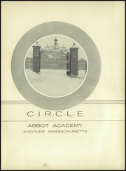 Abbot Academy - Circle Yearbook (Andover, MA) online yearbook collection, 1938 Edition, Page 7