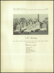 Abbot Academy - Circle Yearbook (Andover, MA) online yearbook collection, 1938 Edition, Page 72