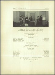 Abbot Academy - Circle Yearbook (Andover, MA) online yearbook collection, 1938 Edition, Page 84