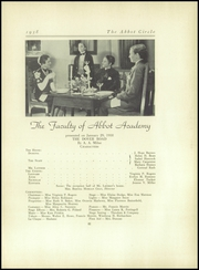 Abbot Academy - Circle Yearbook (Andover, MA) online yearbook collection, 1938 Edition, Page 85