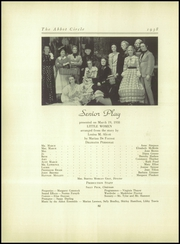 Abbot Academy - Circle Yearbook (Andover, MA) online yearbook collection, 1938 Edition, Page 86