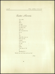 Abbot Academy - Circle Yearbook (Andover, MA) online yearbook collection, 1938 Edition, Page 99