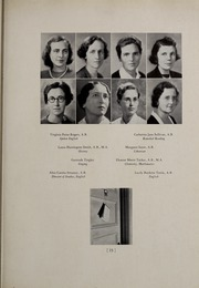 Abbot Academy - Circle Yearbook (Andover, MA) online yearbook collection, 1939 Edition, Page 21