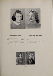 Abbot Academy - Circle Yearbook (Andover, MA) online yearbook collection, 1939 Edition, Page 41 of 116
