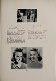 Abbot Academy - Circle Yearbook (Andover, MA) online yearbook collection, 1939 Edition, Page 47
