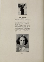 Abbot Academy - Circle Yearbook (Andover, MA) online yearbook collection, 1939 Edition, Page 48