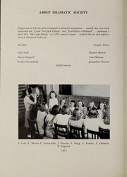 Abbot Academy - Circle Yearbook (Andover, MA) online yearbook collection, 1939 Edition, Page 66