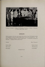 Abbot Academy - Circle Yearbook (Andover, MA) online yearbook collection, 1939 Edition, Page 67