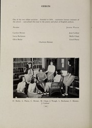 Abbot Academy - Circle Yearbook (Andover, MA) online yearbook collection, 1939 Edition, Page 70