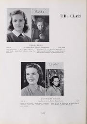 Abbot Academy - Circle Yearbook (Andover, MA) online yearbook collection, 1940 Edition, Page 22