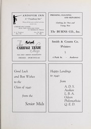 Abbot Academy - Circle Yearbook (Andover, MA) online yearbook collection, 1940 Edition, Page 99