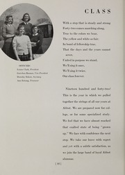 Abbot Academy - Circle Yearbook (Andover, MA) online yearbook collection, 1942 Edition, Page 16