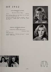 Abbot Academy - Circle Yearbook (Andover, MA) online yearbook collection, 1942 Edition, Page 27