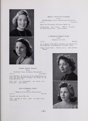 Abbot Academy - Circle Yearbook (Andover, MA) online yearbook collection, 1943 Edition, Page 33