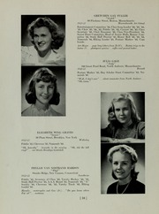 Abbot Academy - Circle Yearbook (Andover, MA) online yearbook collection, 1945 Edition, Page 20