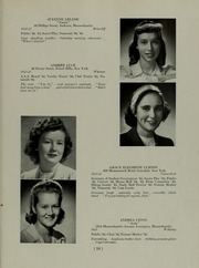 Abbot Academy - Circle Yearbook (Andover, MA) online yearbook collection, 1945 Edition, Page 23