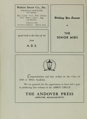 Abbot Academy - Circle Yearbook (Andover, MA) online yearbook collection, 1945 Edition, Page 68