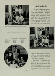 Abbot Academy - Circle Yearbook (Andover, MA) online yearbook collection, 1946 Edition, Page 42