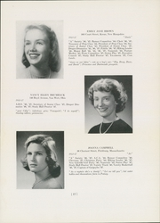 Abbot Academy - Circle Yearbook (Andover, MA) online yearbook collection, 1947 Edition, Page 19
