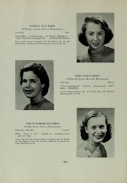 Abbot Academy - Circle Yearbook (Andover, MA) online yearbook collection, 1950 Edition, Page 22