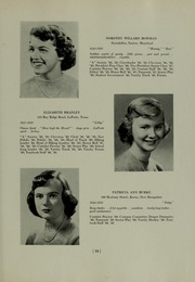 Abbot Academy - Circle Yearbook (Andover, MA) online yearbook collection, 1950 Edition, Page 23