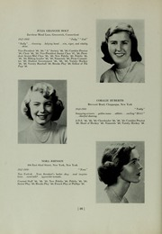 Abbot Academy - Circle Yearbook (Andover, MA) online yearbook collection, 1950 Edition, Page 30