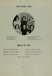 Abbot Academy - Circle Yearbook (Andover, MA) online yearbook collection, 1950 Edition, Page 39